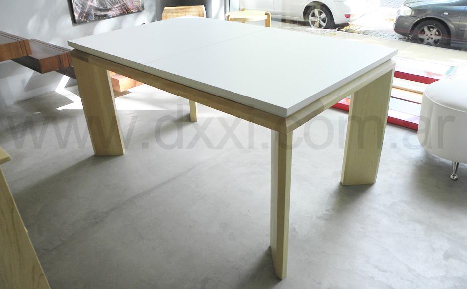 Mesa comedor extensible olsen f brica dxxi - Fabrica de mesas de comedor ...