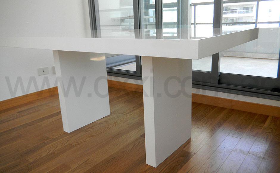Mesa de comedor laqueada tt f brica dxxi - Fabrica de mesas de comedor ...
