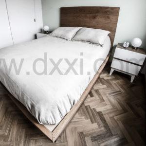 Respaldo de cama modelo plain alto f brica dxxi for Muebles balbin infiesto