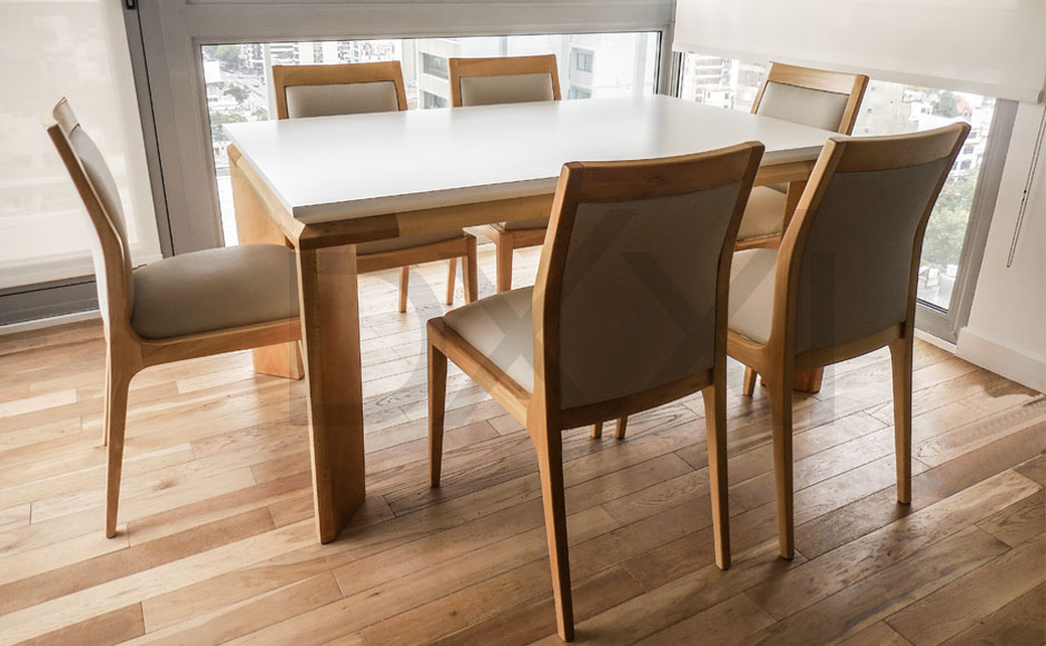 Mesa comedor extensible olsen f brica dxxi for Fabrica de muebles en buenos aires capital federal