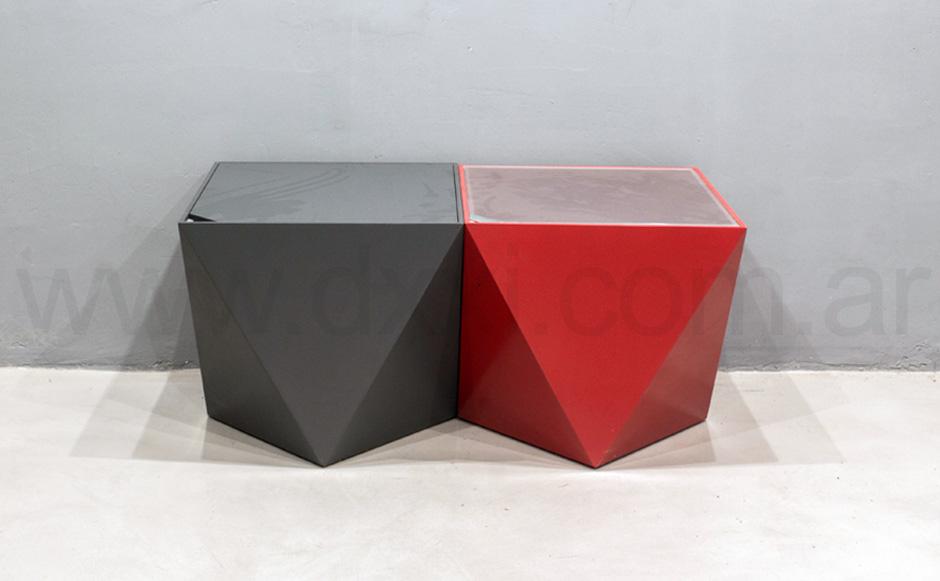 Mesa de arrime Origami