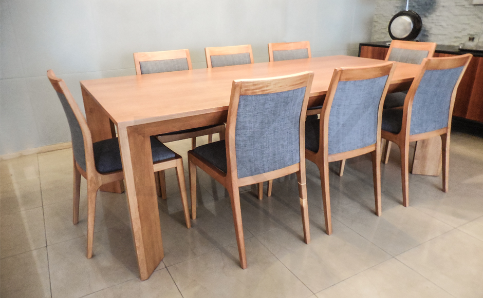 Mesa comedor Brava - DXXI - Fábrica de muebles contemporáneos