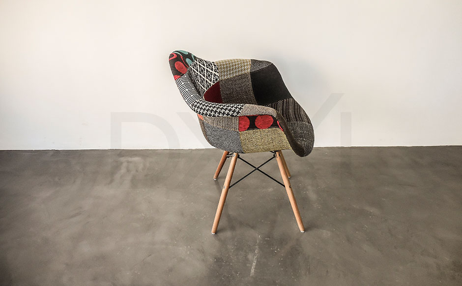 sillon Eames Patchwork - DXXI 03
