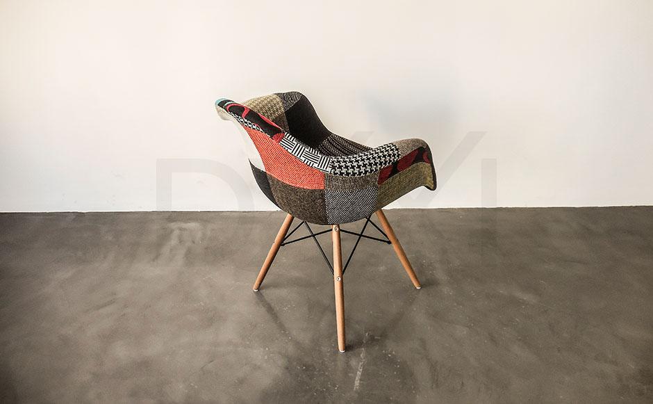 sillon Eames Patchwork - DXXI 04