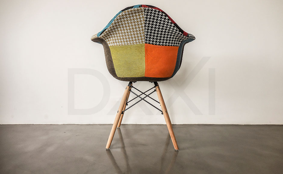 Sillon Eames Eiffel Patchwork, DXXI 05