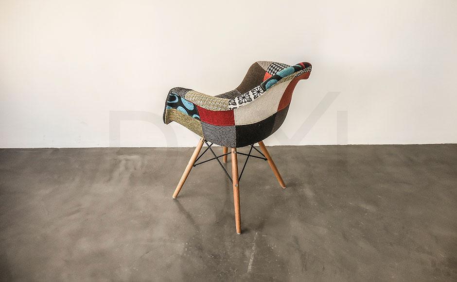 sillon Eames Patchwork - DXXI 06