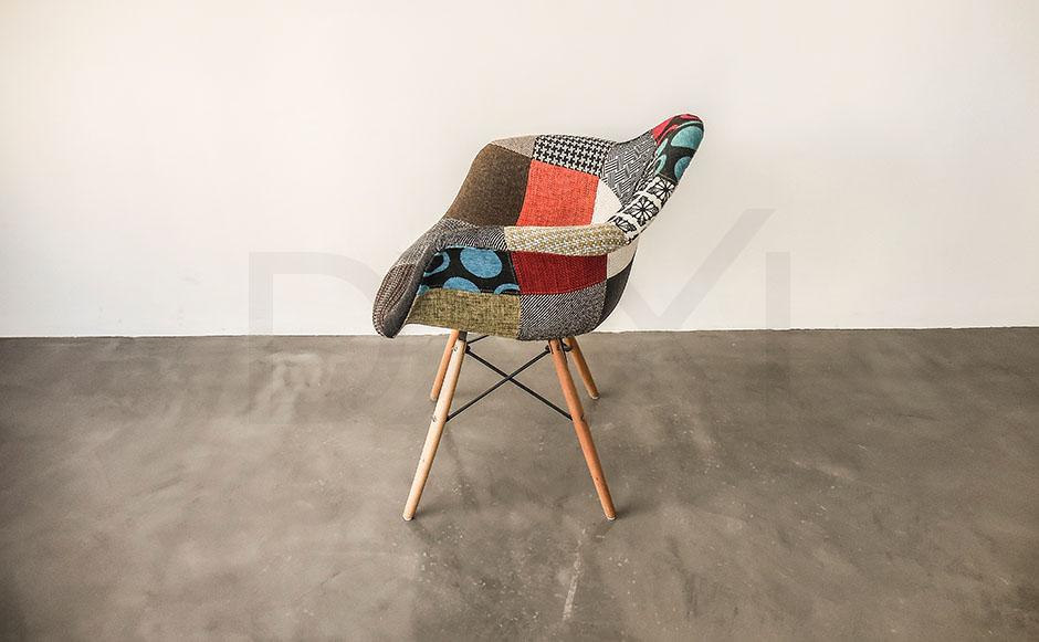 sillon Eames Patchwork - DXXI 07