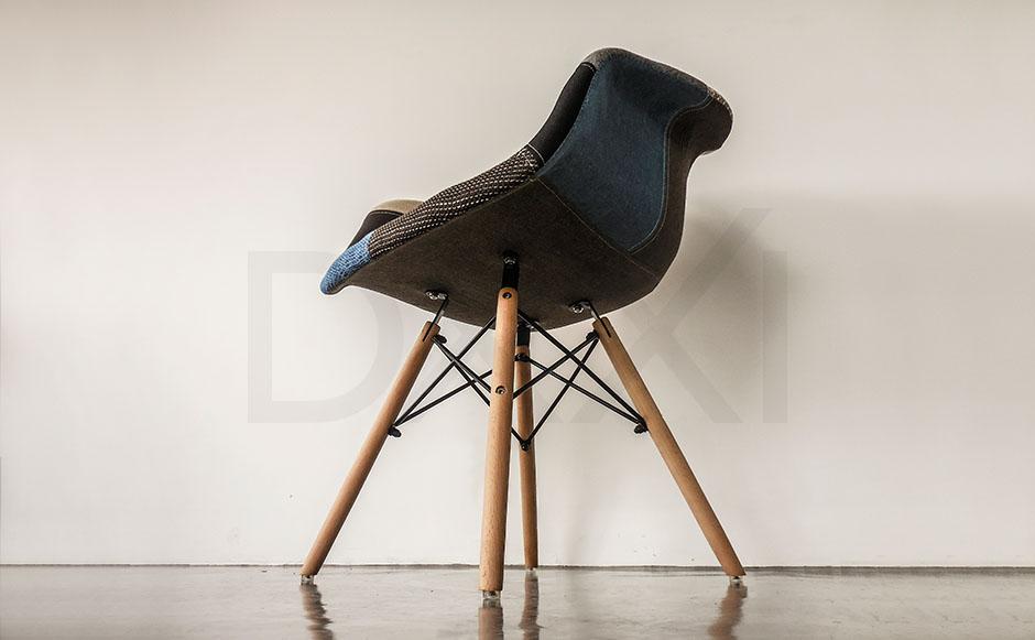 Sillon Eames Eiffel Patchwork, DXXI 09