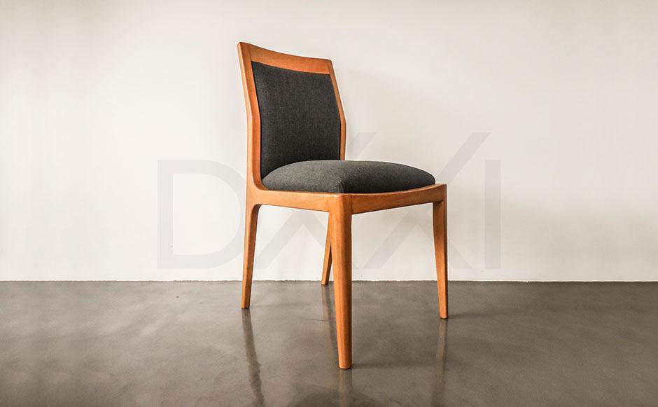 silla olsen respaldo tapizado, DXXI Fabrica de muebles