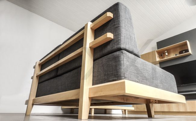 Sillon de madera Tokio DXX