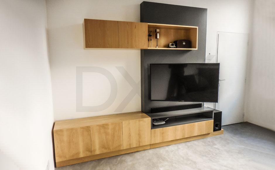 Mueble para tv modelo jenga dxxi fabrica y showroom en for Modelos de muebles para tv