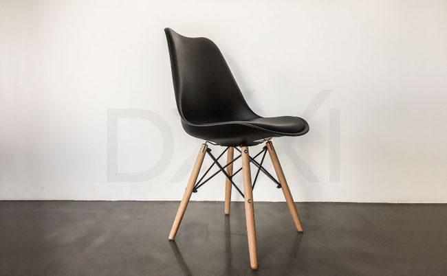 Silla Tulip con base Eames, DXXI