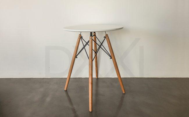 Mesa comedor Eames redonda chia, DXXI fabrica de muebles