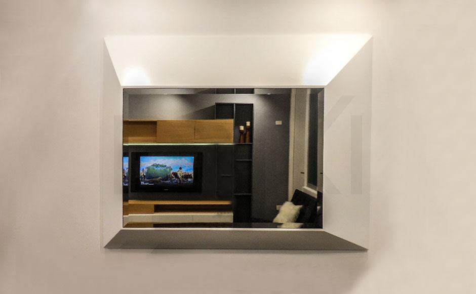 Espejo Cairo laqueado, DXXI fabrica de muebles contemporaneos - 02